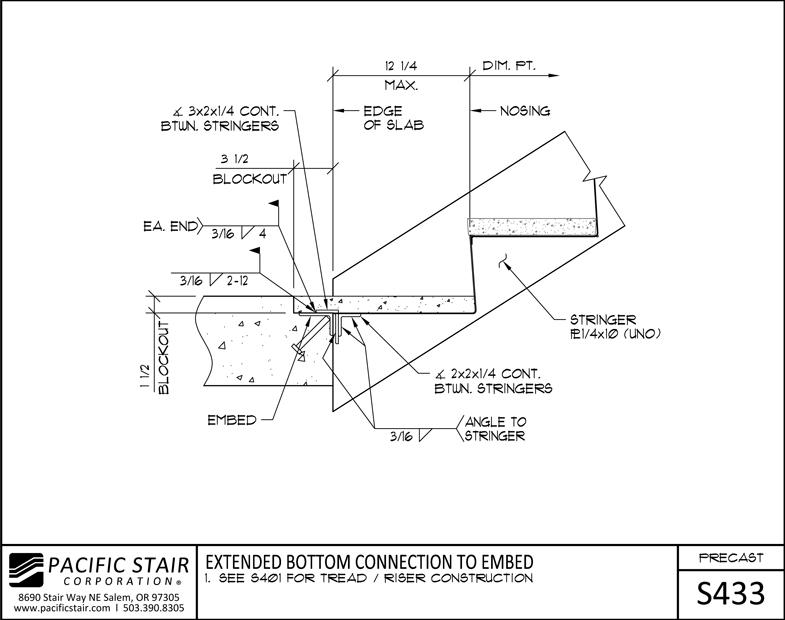 Precast Stairs & Landings | Pacific Stair Corporation