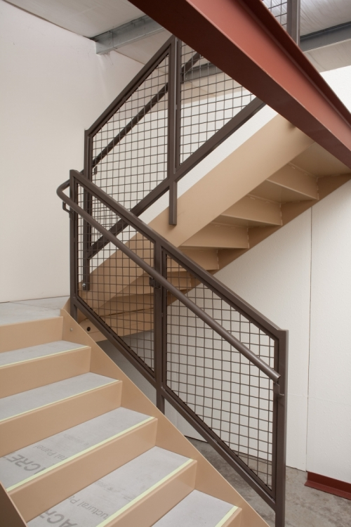 Wire mesh rail pacific stair corporation